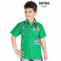 Kids Green Shirts
