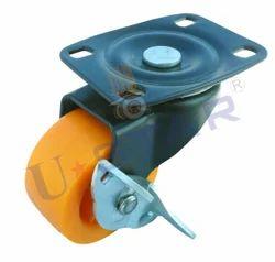 Single Wheel Brake Caster
