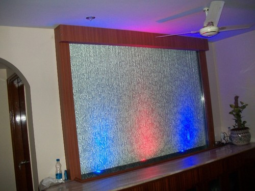 Glass Water Curtain Fountain At Rs 75000 No S Glass