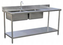 Industrial Bowl Sink Top