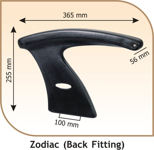 Black Fitting Zodiac Revolving Chair Handle