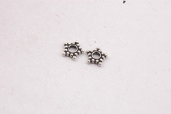 Sterling Silver Star Spacer