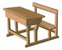 Wooden School Desk, Wooden Sofa, Wardrobes And Furniture ...