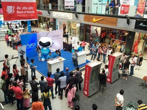 impact of promotional activities at mall