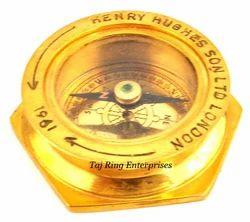 Open Face Henry Brass Compass