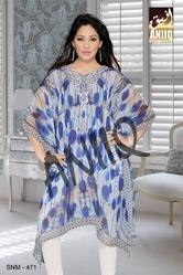Digital Printed Designer Wear Kurti 471