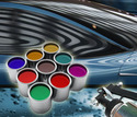 Metallic Automotive Paint