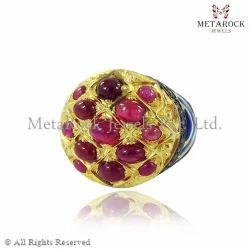Ruby Gemstone 14k Gold Ring