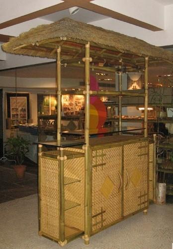 Outdoor Bamboo Furniture Bamboo Bar Counter Manufacturer