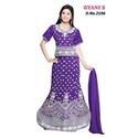 Purple Stylish Ghagra Choli