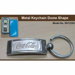 Metal Keychain Dome Shapes CM12350