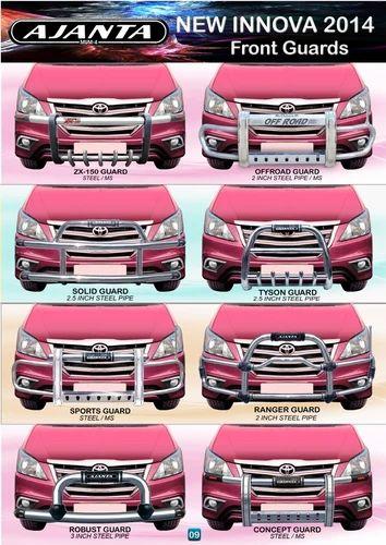Toyota INNOVA 2012 Accessories. FRONT GUARD-RACKS - New ...