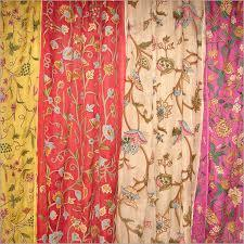 Captivating Embroidered Curtains