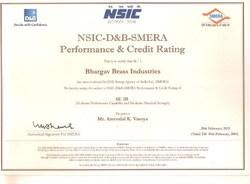 NSIC & D&B Certificate