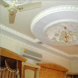 Gypsum False Ceiling Interior Designing