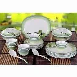 Dinner Set Blue Rose Dinner Manufacturer from Faridabad