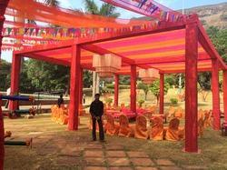 Truss With Draping Event Decoration