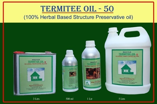 Termite Oil At Rs 600 Litre Anti Termite Chemical Id 8210397612