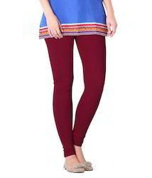 Ladies Maroon Leggings
