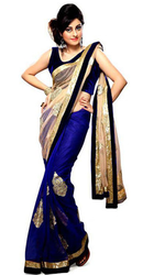 Florence Solid Bollywood Net Sarees