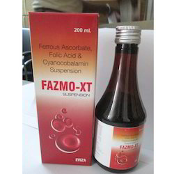 Ferrous Ascorbate, Folic Acid Syrups, Packaging Type: Bottle, Packaging Size: 200 Ml