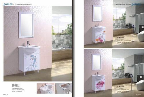 pvc bathroom vanity trader importer from kolkata