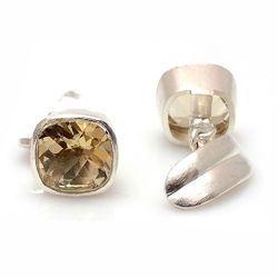 Precious Stone Cufflinks