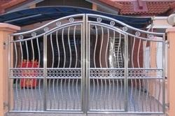 6ft High Stainless Steel Gate