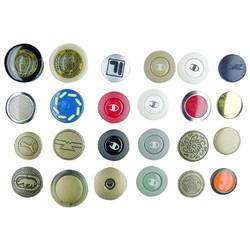 Laser-Embossed Buttons