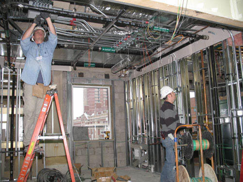 Commercial Electrical Project Work Commercial Shopping