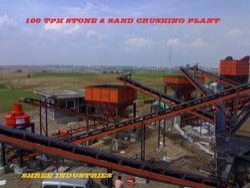 100 TPH Stone Crushing Plant