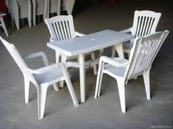 Plastic Dining Table Set