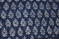 Dabu Indigo Print Dress Cotton Material