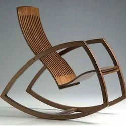 wooden rocking chair sri golju furniture in moti nagar haldwani id