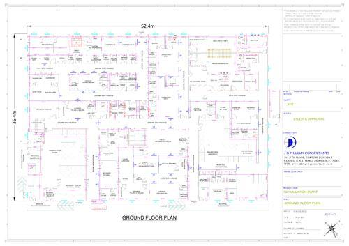 Pharmaceutical Plant Layout Designing Service Provider