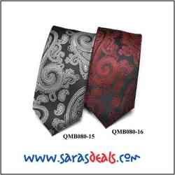 QMB080-15, QMB080-16 - Mens Tie (Micro Fibre)