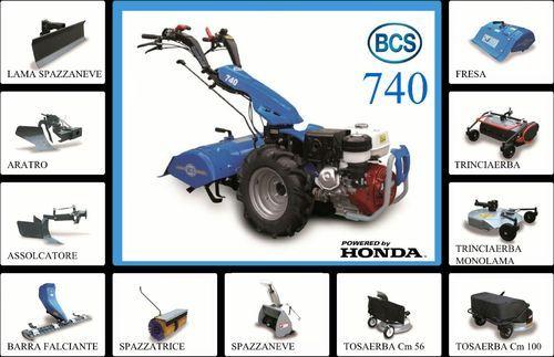 Bcs harvester 720 manual