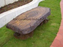 Garden Bench Decoration