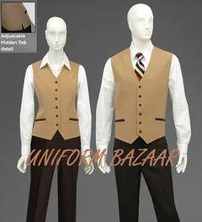 Restaurant Cashier Uniform U-78