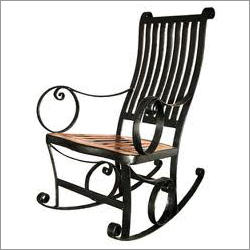 standard Black Wrought Iron Chairs, For Outdoor