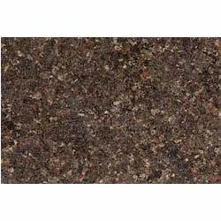 Flamed Block Royal Brown Granite Stone, For Countertops, Thickness: 15-20 mm