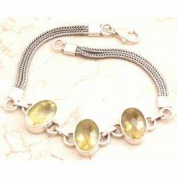 Spectacular Lemon Quartz Bracelet