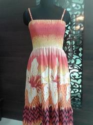 Printed Fashion Gown