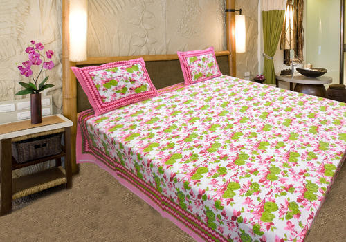Superbe Small Flower Pure Cotton Bed Sheet