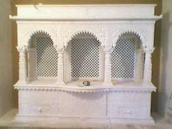 White Marble Krishna Temple