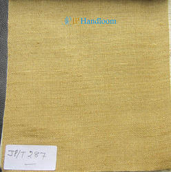 Golden Dyed Throwster Silk Fabric