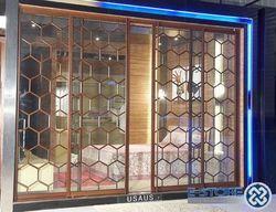 aluminium partition door, aluminium door - shreehari alu
