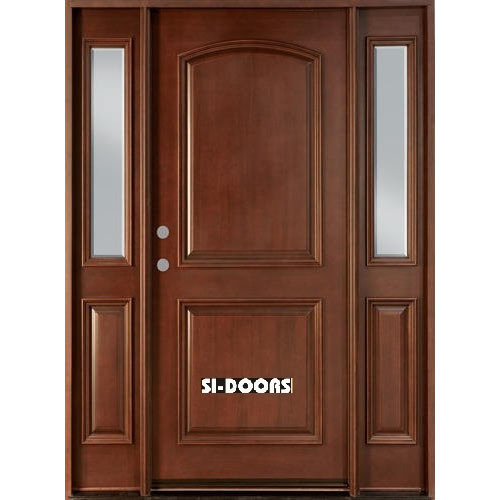 Standard Finished Solid Wooden Door Rs