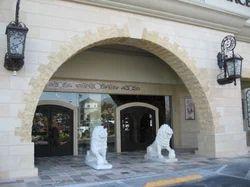 Marble Lion Main Entrance