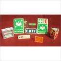 Safety Exit Signages